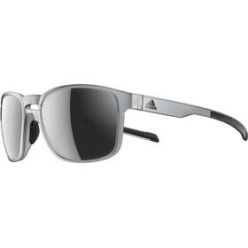 adidas Protean - Lunettes cyclisme - gris/transparent